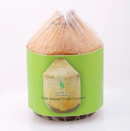Tender coconut packing